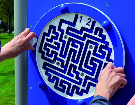 7122D Labyrintstation D-versie