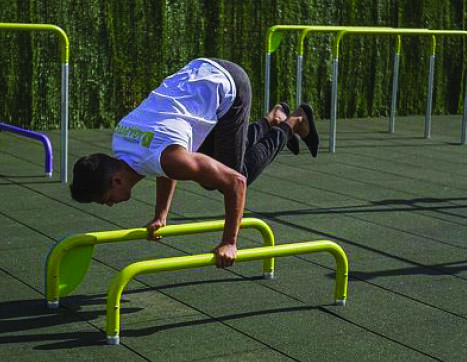 7424 Parallel bars 350 mm