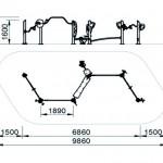 7302X Zig Zag Circuit