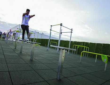 7438 Balance jump platforms, 4 st.