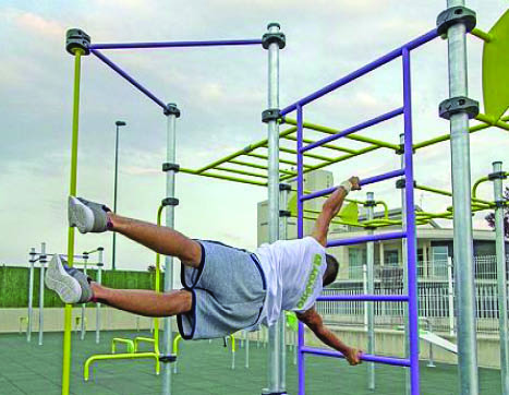 7480 Set STREET WORKOUT 10 posts