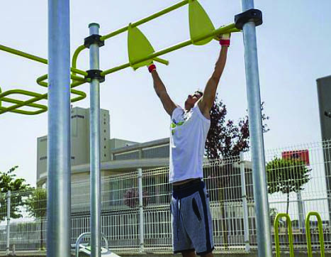 7478 STREET WORKOUT hex. 6 posts